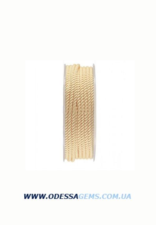 Купить Шелковый шнур Милан 226 3.0 мм, Цвет: Желтый