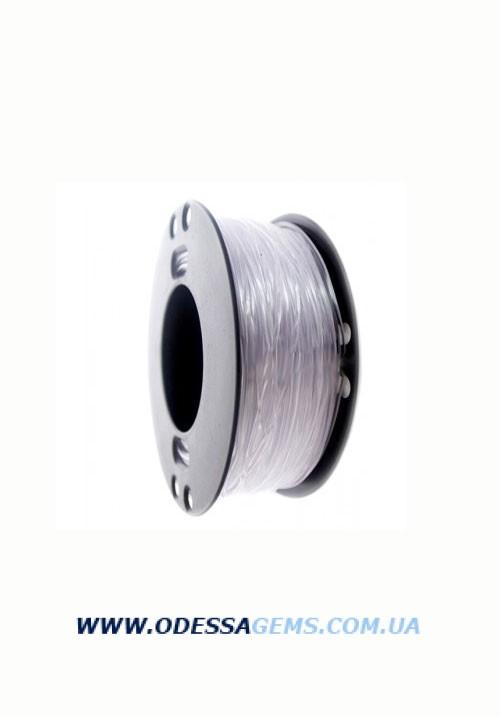 2,5 мм, Каучуковый шнур Прозрачный (Италия)