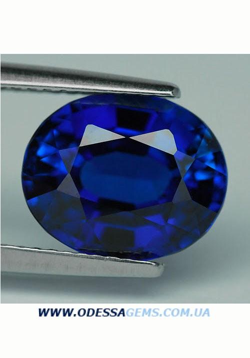 Сапфир Цейлон Royal Blue