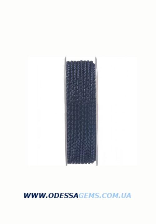 Купить Шелковый шнур Милан 2016 2.5 мм, Цвет: Синий 27