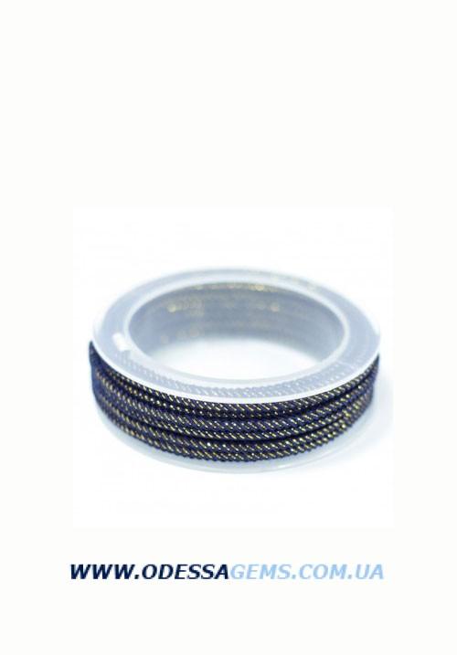 Купить Шелковый шнур Милан 235 3.0 мм Цвет: Синий