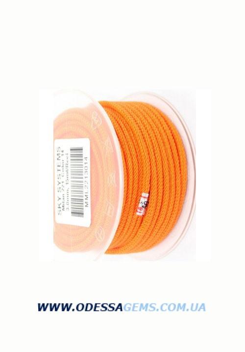 Купить Шелковый шнур Милан 221 3.0 мм Цвет: Оранжевый