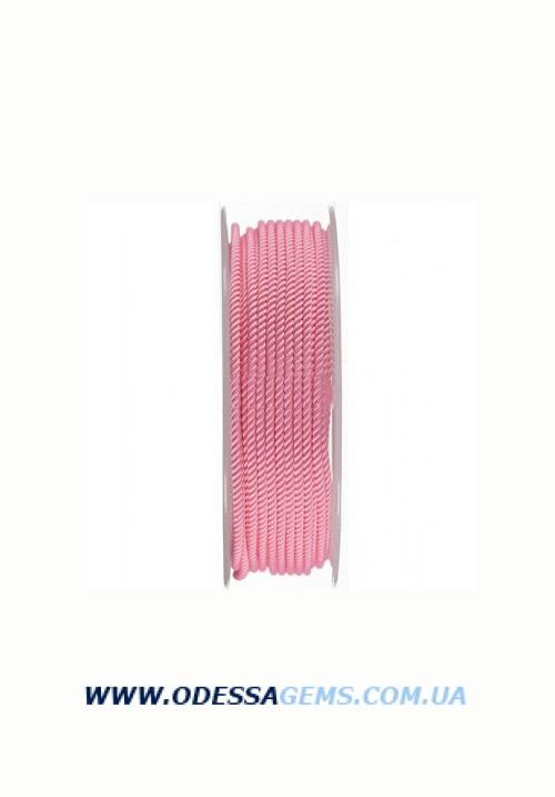 Купить Шелковый шнур Милан 226 2.0 мм, Цвет: Розовый 1