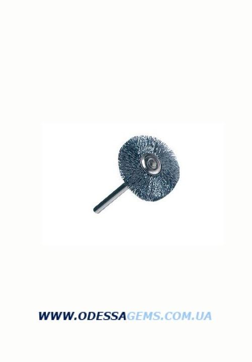 Щетка стальная н/д, d-21 мм  (к)