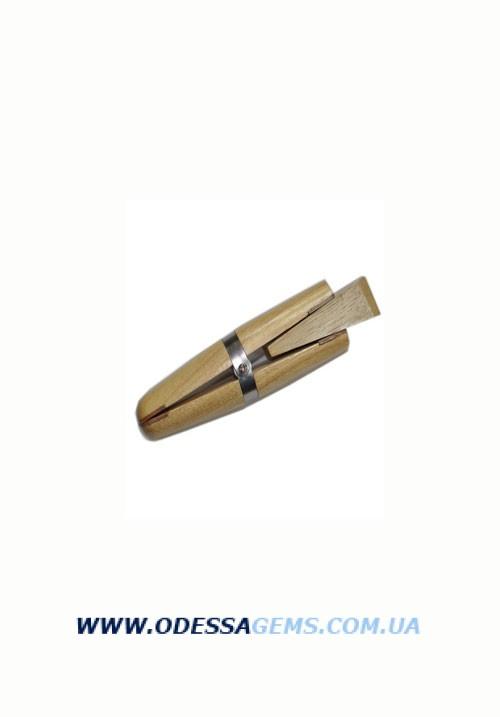 Тиски деревянные ручные с клином 155 мм