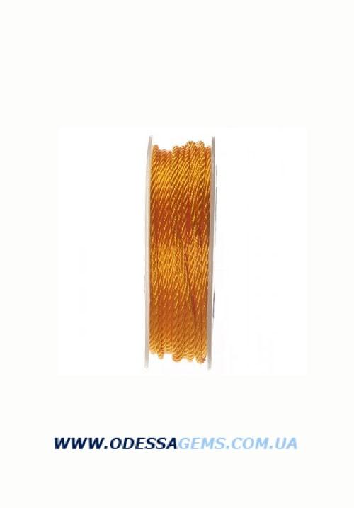 Купить Шелковый шнур Милан 301 3.0 мм Цвет: Оранжевый