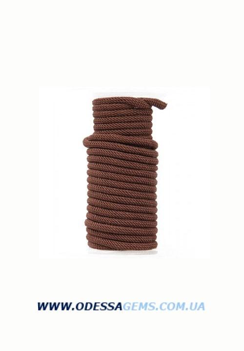 Купить Шелковый шнур Милан 221 4.0 мм Цвет: Коричневый