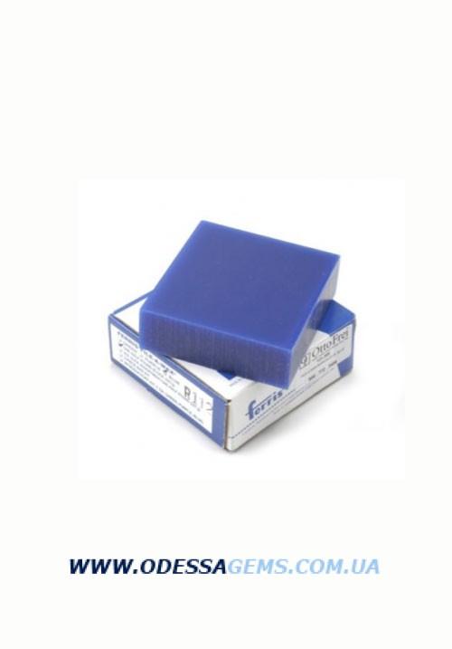 Восковый брусок FERRIS FILE-A синий (90х90х28 мм), 227 г