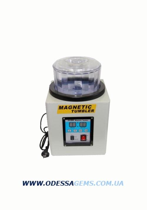 Магнитогалтовка KT-185 предназначена для обработки ювелирных изделий с помощью игл из нержавеющей стали.