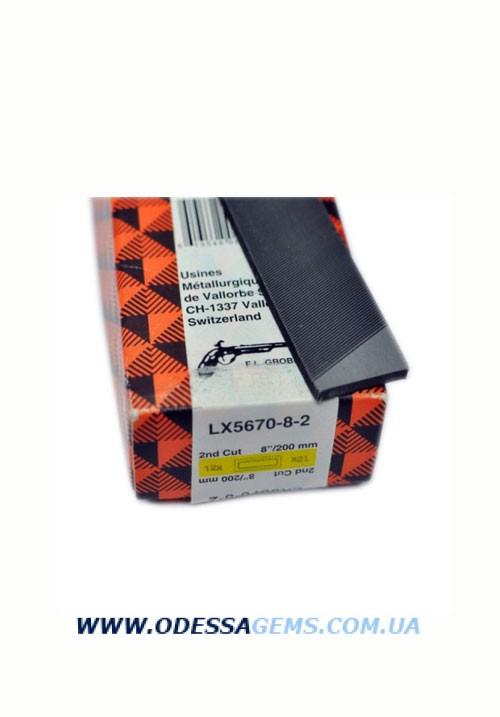 Купить Напильник прямоугольный Vallorbe Grobet L=200 #2