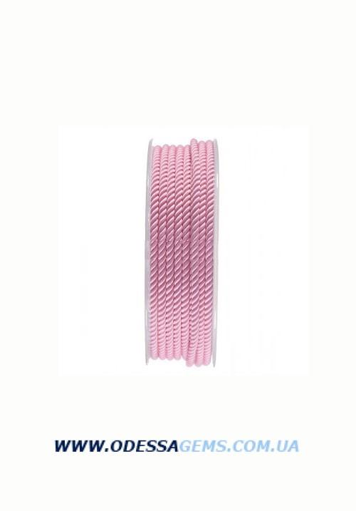 Купить Шелковый шнур Милан 226 3.0 мм, Цвет: Розовый 2
