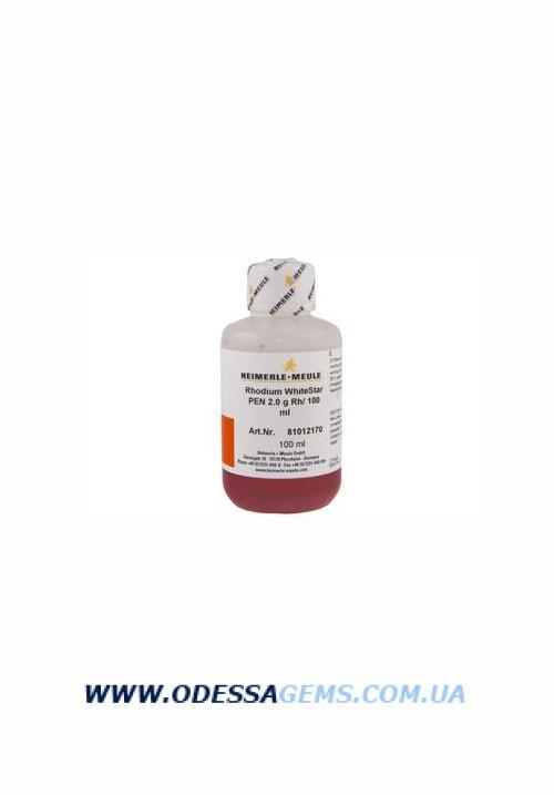 Раствор H+M WhiteStar PEN для Rh карандашом (2 г, 100 мл) белый