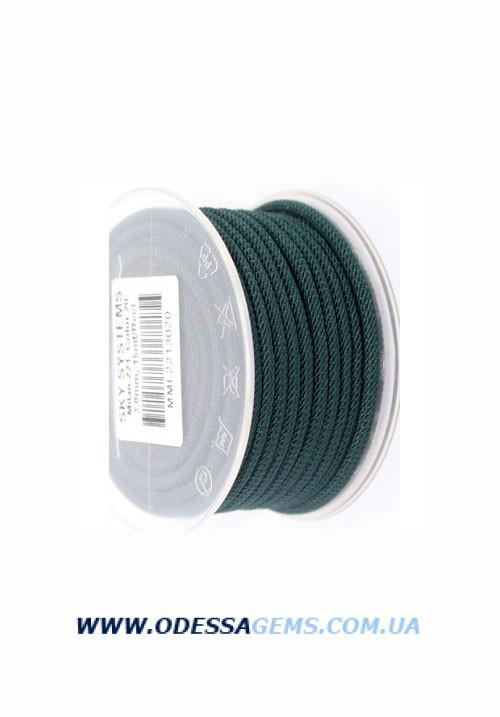 Купить Шелковый шнур Милан 221 3.0 мм Цвет: Синий