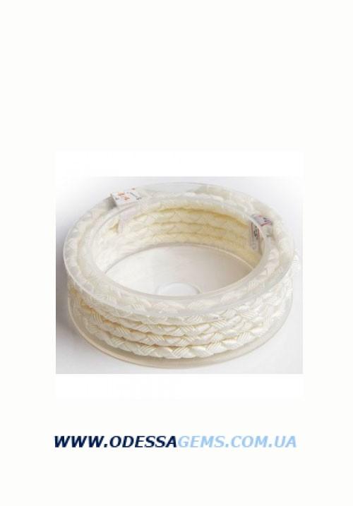 Купить Шелковый шнур Милан 222 5.0 мм Цвет: Белый