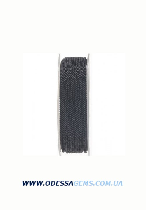 Купить Шелковый шнур Милан 226 2.0 мм, Цвет: Черный