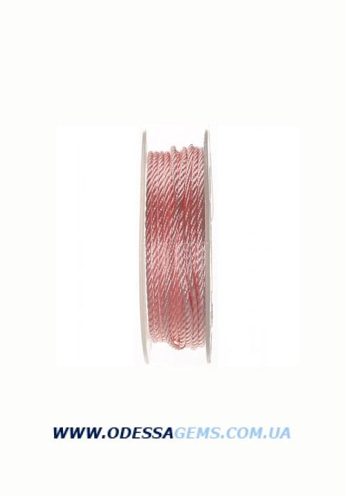 Купить Шелковый шнур Милан 301 2.0 мм Цвет: Розовый