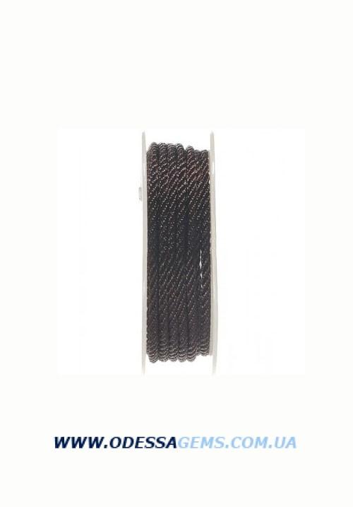 Купить Шелковый шнур Милан 301 3.0 мм Цвет: Коричневый