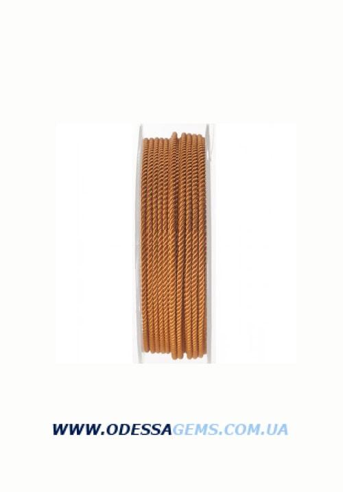Купить Шелковый шнур Милан 226 2.0 мм, Цвет: Бежевый