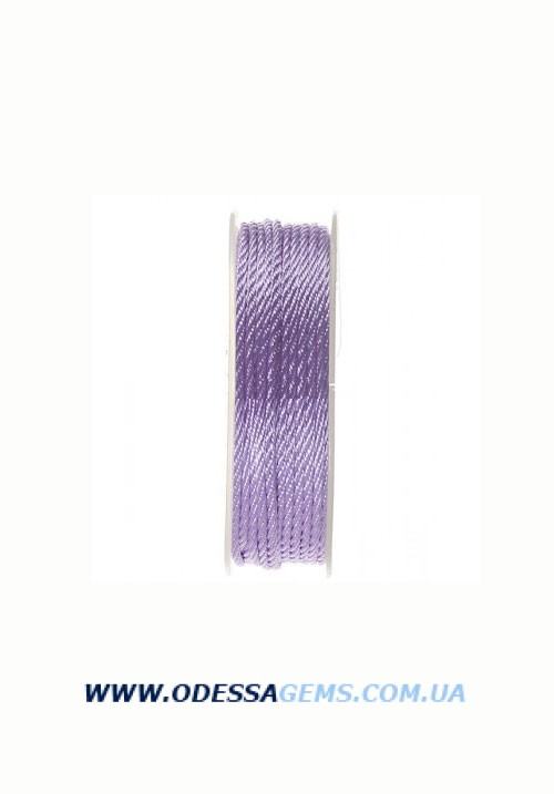 Купить Шелковый шнур Милан 301 2.0 мм Цвет: Сиреневый