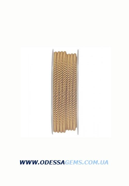 Купить Шелковый шнур Милан 226 3.0 мм, Цвет: Горчичный