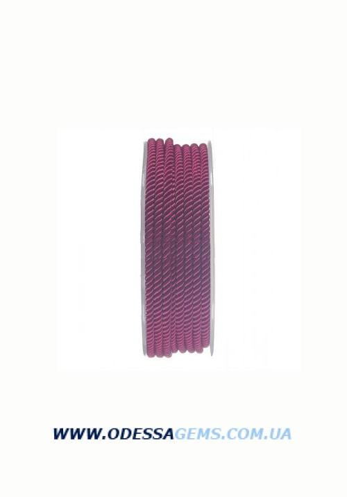 Купить Шелковый шнур Милан 226 3.0 мм, Цвет: Малиновый 2