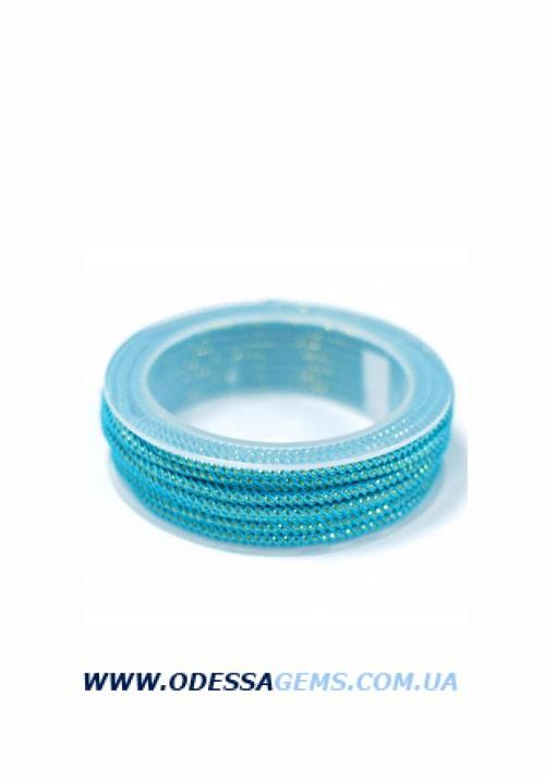 Купить Шелковый шнур Милан 235 3.0 мм Цвет: Бирюза