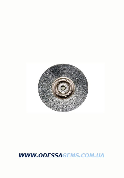 Щетка стальная н/д, d-21 мм K-18