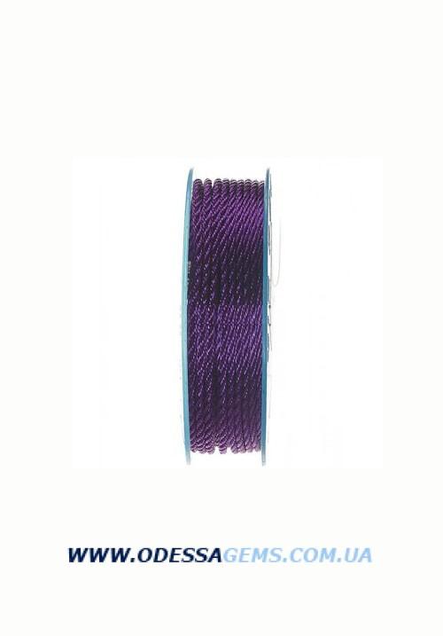 Купить Шелковый шнур Милан 301 2.0 мм Цвет: Фиолетовый