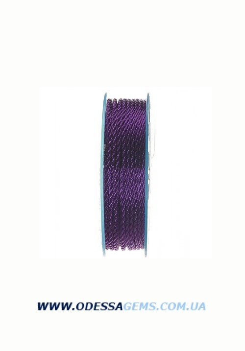Купить Шелковый шнур Милан 301 3.0 мм Цвет: Фиолетовый