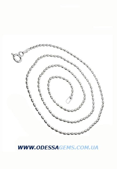 Цепь Олива 1.5 мм серебро