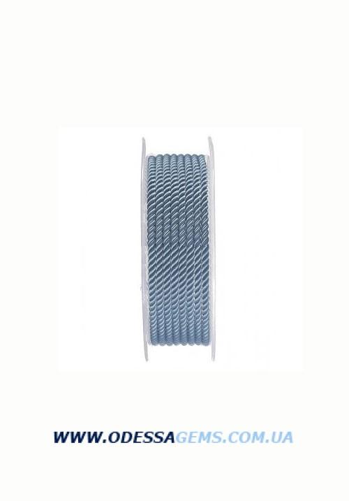 Купить Шелковый шнур Милан 226 3.0 мм, Цвет: Синий 3