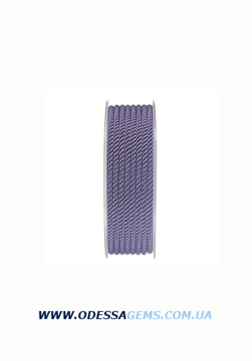 Купить Шелковый шнур Милан 226 3.0 мм, Цвет: Фиолетовый