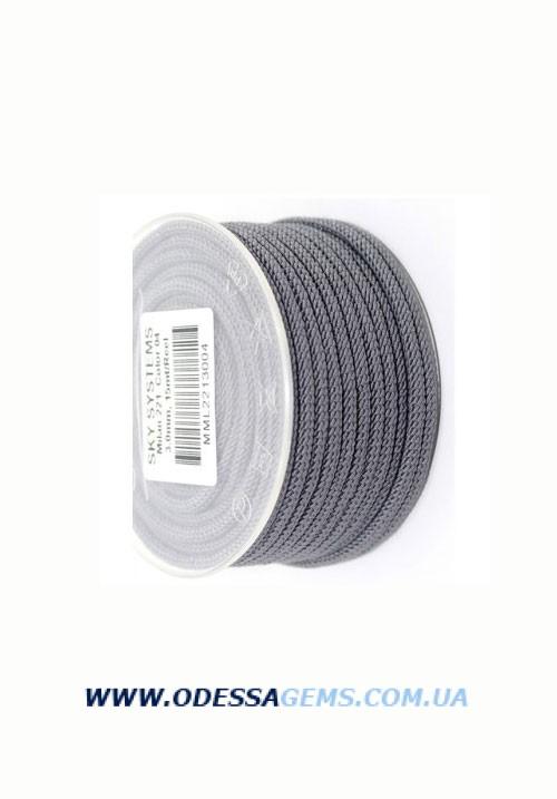 Купить Шелковый шнур Милан 221 3.0 мм Цвет: Серый