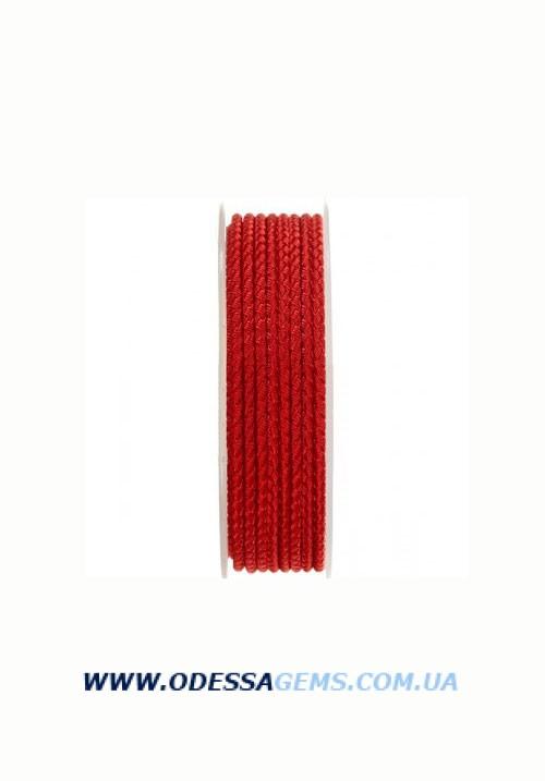 Купить Шелковый шнур Милан 2016 2.5 мм, Цвет: Красный 08