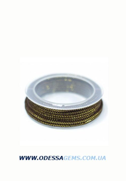Купить Шелковый шнур Милан 235 3.0 мм Цвет: Черный