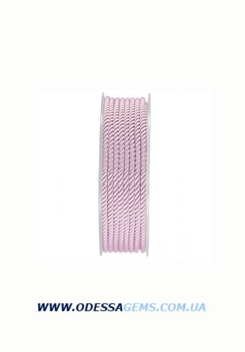 Купить Шелковый шнур Милан 226 3.0 мм, Цвет: Розовый