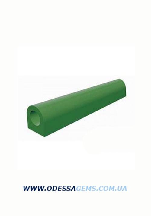 """Купить Воск FERRIS T-100 зеленый """"трубка с плоской стороной"""" (28х25 мм, d-15 мм, L-150 мм)"""