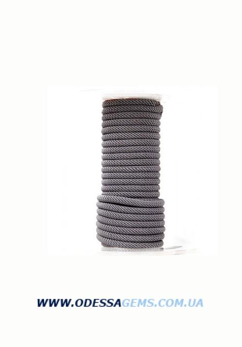 Купить Шелковый шнур Милан 221 4.0 мм Цвет: Серый