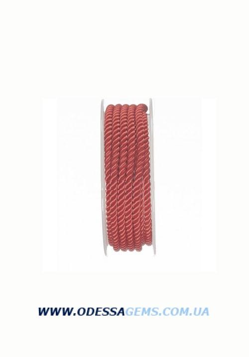 Купить Шелковый шнур Милан 226 4.0 мм, Цвет: Красный