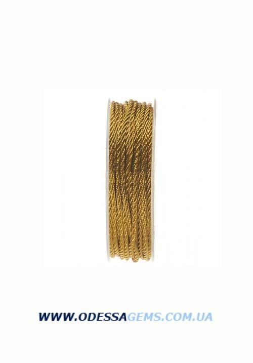 Купить Шелковый шнур Милан 301 2.0 мм Цвет: Хаки