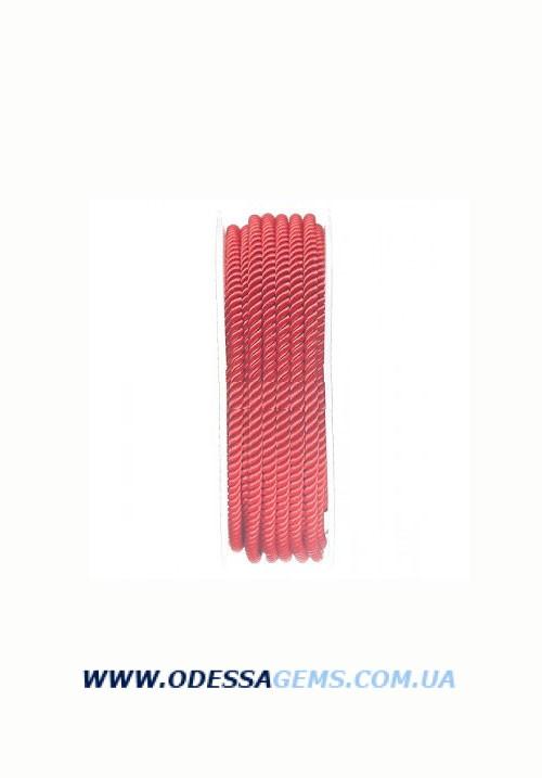 Купить Шелковый шнур Милан 226 3.0 мм, Цвет: Красный