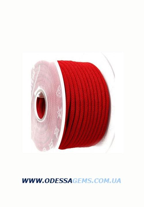 Купить Шелковый шнур Милан 221 3.0 мм Цвет: Красный