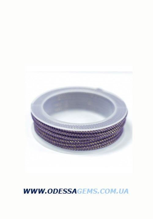 Купить Шелковый шнур Милан 235 3.0 мм Цвет: Фиолетовый