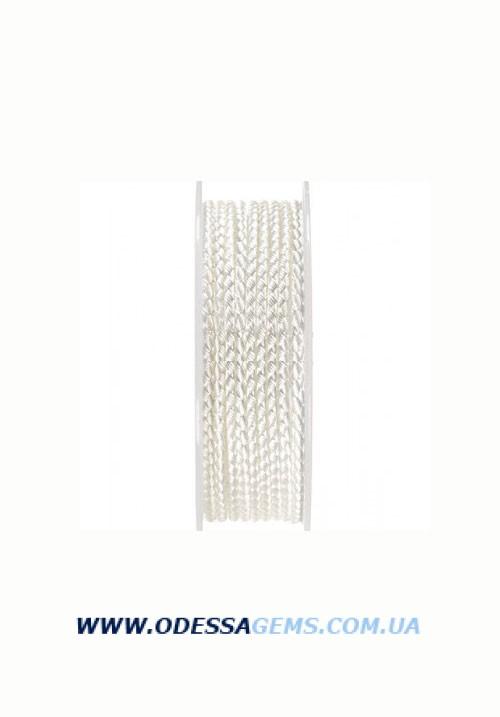 Купить Шелковый шнур Милан 2016 2.5 мм, Цвет: Белый 20