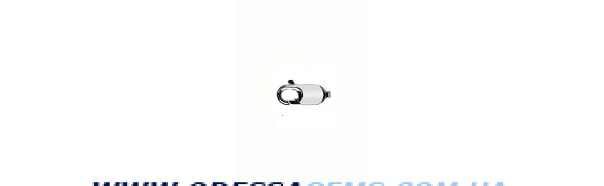 Купить Фурнитура серебро - карабин, застежка, замок серебро