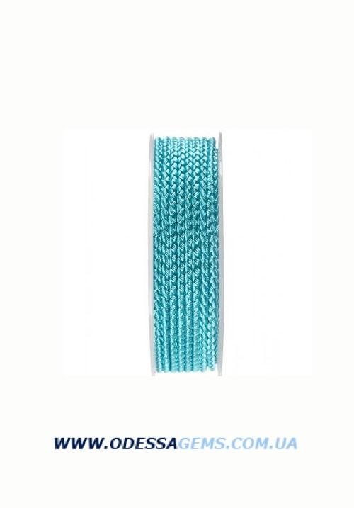 Купить Шелковый шнур Милан 2016 2.5 мм, Цвет: Бирюза 25