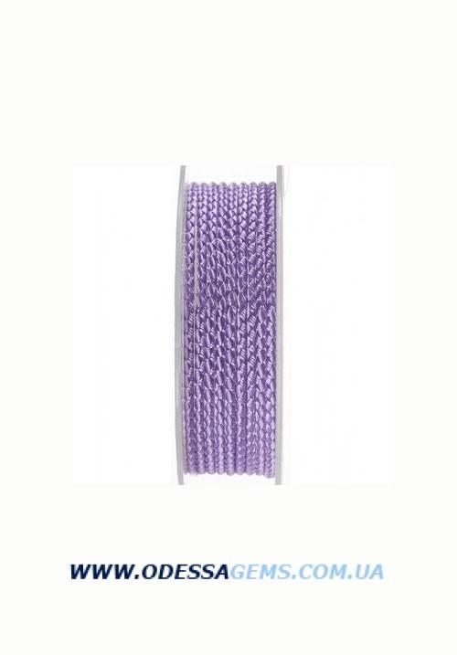 Купить Шелковый шнур Милан 2016 3.0 мм, Цвет: Сиреневый
