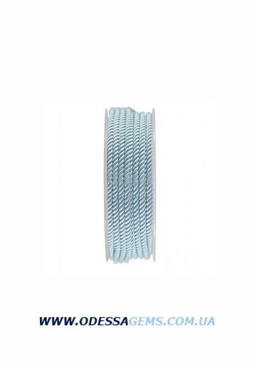 Купить Шелковый шнур Милан 226 3.0 мм, Цвет: Бирюза