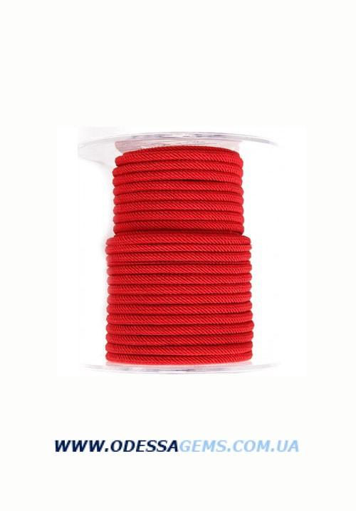 Купить Шелковый шнур Милан 221 4.0 мм Цвет: Красный