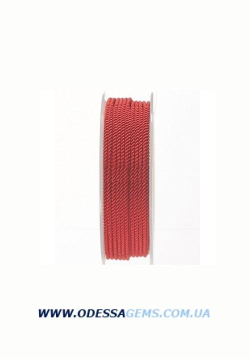 Купить Шелковый шнур Милан 226 2.0 мм, Цвет: Красный
